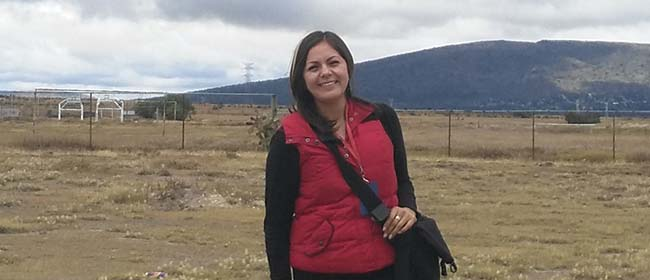 Opinião de Consuelo Jiménez, aluna da Especialização em Educação Ambiental patrocinada pela FUNIBER