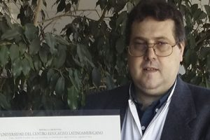 Opinião de Leandro Rozada, aluno argentino bolsista pela FUNIBER de Bioética