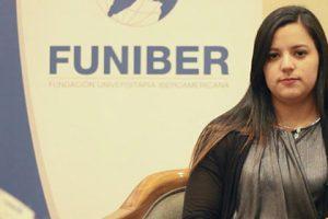 Opinião de Priscilla Díaz, aluna costa-riquenha, bolsista pela FUNIBER