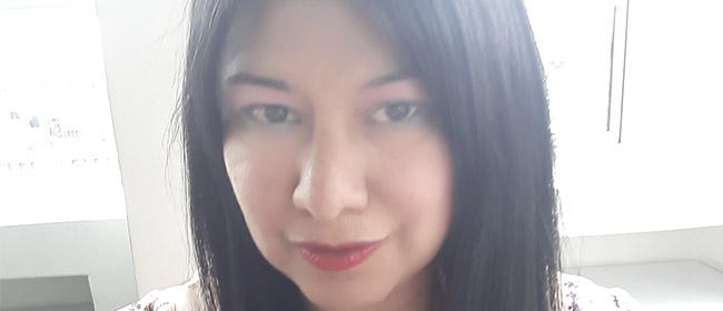 Opinião de Claudia Cubillos, aluna colombiana bolsista pela FUNIBER