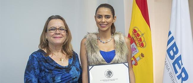 Noelia Vargas Solís é uma aluna de Naranjo, na província de Alajuela (Costa Rica), que cursou com bolsa pela FUNIBER o Mestrado em Gerontologia Social,