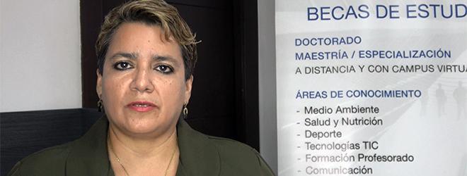 Opinião de Lourdes del Pilar Bermeo Herrera, estudante do Equador, com bolsa pela FUNIBER