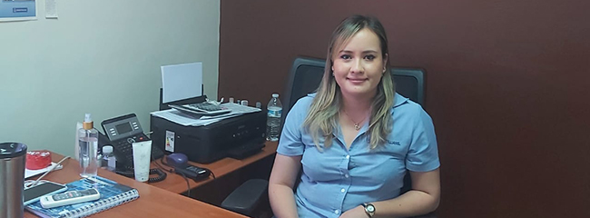 Entrevista com Ana Cecilia Marquina Pineda, estudante hondurenha com bolsa de estudos FUNIBER