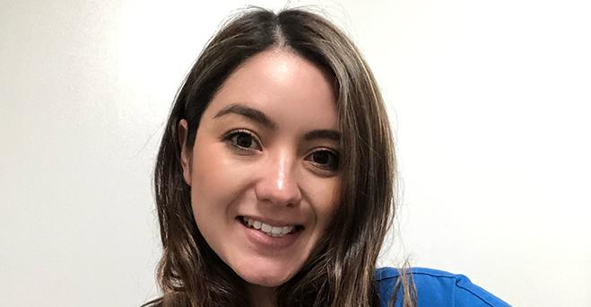 Entrevista com Andrea Rodríguez Herrera, aluna da área de Saúde e Nutrição bolsista da FUNIBER